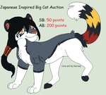 JAP Inspired Big Cat Auction - CLOSED by samsocksadopts