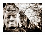 Angkor Face by anthsilver
