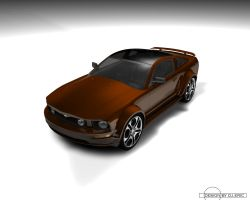 mustang gt by djeric by 3DEricDesign