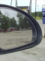 Mirror and Gas by not-ton