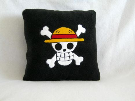 One Piece Pillow by PlushWorkshop