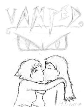 Vamped manga cover sketch by xMxAxGx