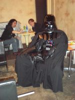 Come Sit On Vaders Magic Lap by masterbarkeep