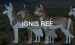 Ignis reference sheet by TheDarkHyena