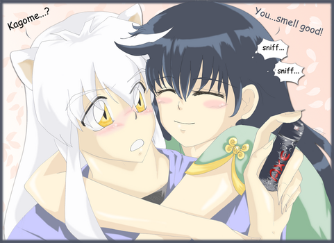 + InuYasha smells good + by starr-dream