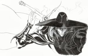 Vampire Hunter D by Jo-Bo