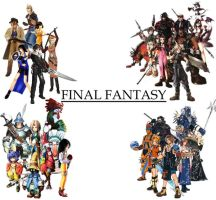 Final Fantasy Series by BrandonBoogers