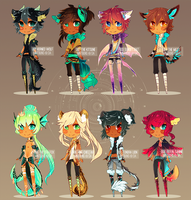 [ADOPT AUCTION] kemonomimi bbs v.2  CLOSED! by mintbuns