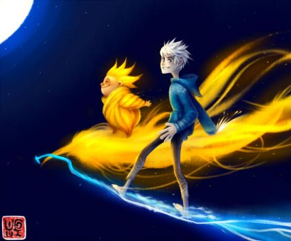 ROTG: Jack Frost and Sandman by Yufei