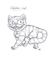 The Cheshire Cat by uhnevermind