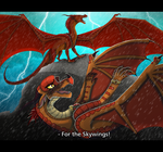 For The Skywings Collaboration by xTheDragonRebornx