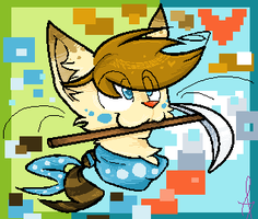 Minecat by SnownightTheCat