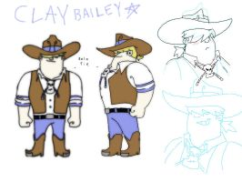 RH Clay Bailey Model Sheet by kirkerr
