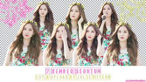 PNG Pack Seohyun :v by JulieMiyeon