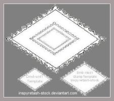 Stamp Templates Diamond1 by Bnspyrd