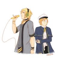 (request) Vocaloids: oliver and yohioloid by maccira