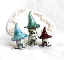 Houses of tiny Witches by vavaleff