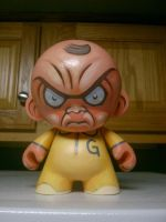 Googar Munny custom vinyl by JasonGoad