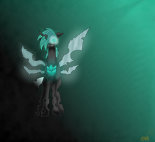 Here, have a Changeling by ShockHazard