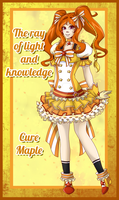 Character Card - Cure Maple by Setsuna-Yena