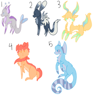 .:Species/Canine Point Adoptables CLOSED:. by EnchantedAdoptery