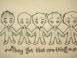 Just Some One D. Chibi by WeAreMarauders