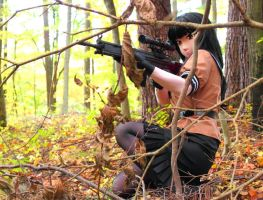 MarksWoman in the deep-forest-1 by chocolate-array