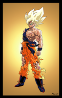 EPIC GOKU by PhazeN1