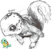 Squirtle by spydermann