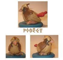 Pidgey Sculpture by samuelnff