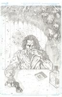 Darkness cover pencil by fragcomics