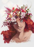 Flower Crown Yavanna by sycamoreleaf