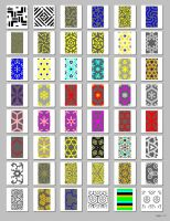 Patterns for GIMP by nevit