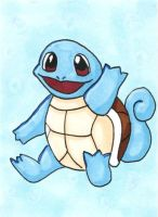 Supernova 2014 ACEO - Squirtle by bittykitty
