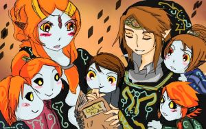 Twili child listen Link Love Midna story by Christy58ying