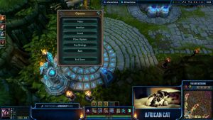 League of Legends Overlay - AfricanCat by Renacac