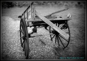 Old Wrecked Cart by Vincent-Malcolm