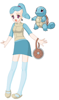 Human Squirtle by Lillianmax