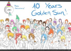Happy 10th anniversary WIP by Jennax3