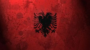 Albanian Flag wallpaper by GaryckArntzen