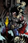 LOBO VS WOLVERINE COLOR by Sandoval-Art