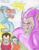 Bulla and Trunks-Transformatio by Iziume89