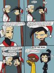 Christmas Comic page 1 by thedarklordkeisha