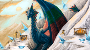 Intet, the Dreamer (Tarkir style) by ApathyHouseArt
