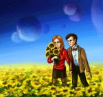 Field of sunflowers by WingsOfOwl
