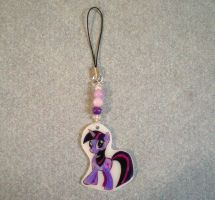 MLP Twilight Cell Phone Charm by AmyAnnie14