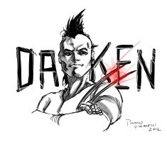 Daken sketch by DantePhoenix21