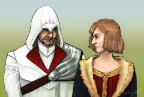 Ezio makes awkward comment by coloristjen