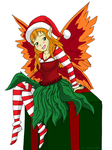 Christmas Fairy by Duchess-of-Dismal