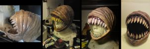 Eyeless Mask - Process by Puzzels
